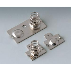 Set of battery clips, 2x AA,    STC