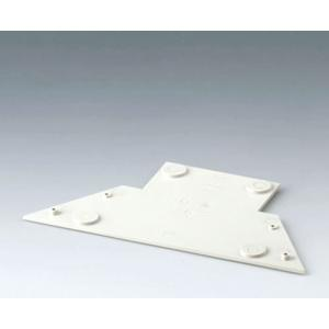 CARRYTEC base plate for stations, off-white
