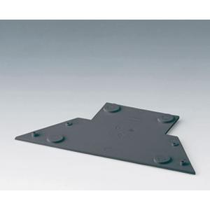 CARRYTEC base plate for stations, lava