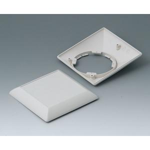 OKW ART-CASE S110 F, 110x110x38 mm, flat