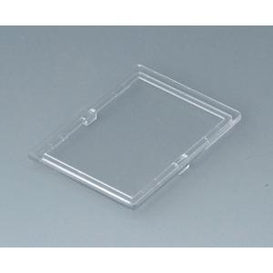 RAILTEC B transparent lid, 2 modules