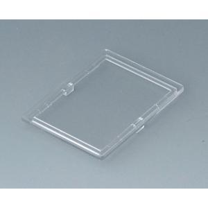 Lid, 2 modules, transparent, RT B