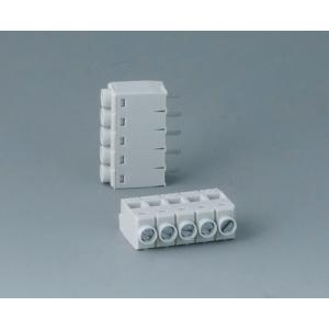 Screw terminal block, pitch 5,0 mm, 5-pin