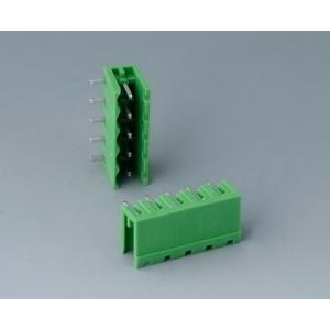 Plug header male, pitch 5,08 mm, 5-pin