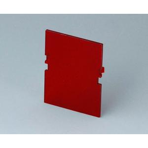 RAILTEC B red front panel, 2 mod., Vers. VI