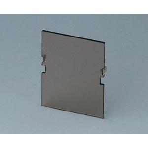 RAILTEC B smoked front panel, 2 mod. Vers. VI