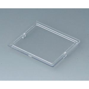 RAILTEC B transparent lid, 3 modules