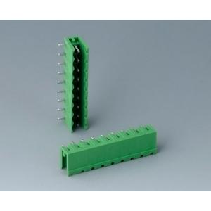 Plug header male, pitch 5,08 mm, 9-pin