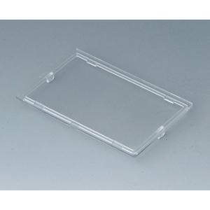 Lid, 4 modules, transparent, RT B