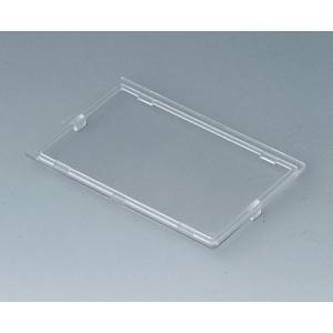 RAILTEC B transparent lid, 4 modules