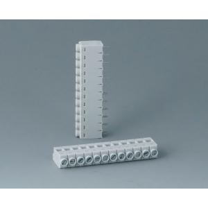 Screw terminal block, pitch 5,0 mm, 12-pin