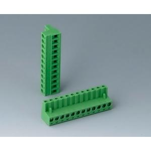 Plug header female, pitch 5,08 mm, 12-pin