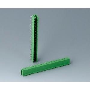 Plug header male, pitch 5,08 mm, 18-pin