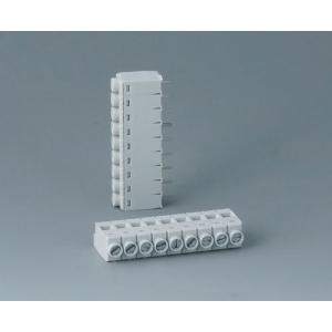 Screw terminal block, pitch 5,0 mm, 9-pin