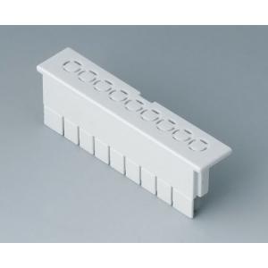 RAILTEC B term. cap flat, perf. 5,0 mm/6-pin