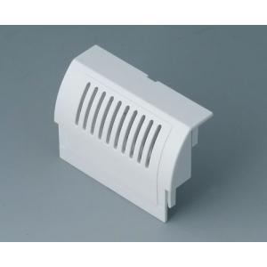 RAILTEC B term. cap high, with vent., convex