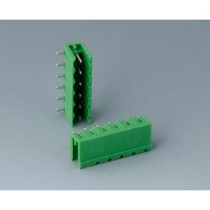 Plug header male, pitch 5,08 mm, 6-pin