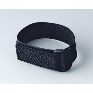 Elastic wrist strap with velcro, 280 mm