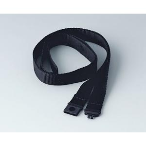 Carrying strap with safety closure, 860 mm