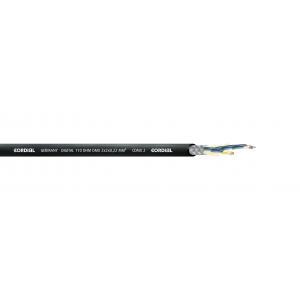 DMX-kaapeli, 2x2x0,22mm², Ø6,4mm
