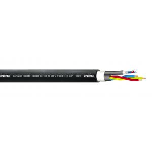 DMX-hybridi, 1xDMX+3x1,5mm², Ø13,5mm