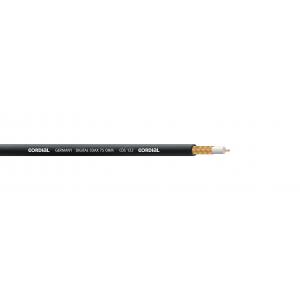 SPDIF-kaapeli, Ø6,1mm, 75 ohm. musta