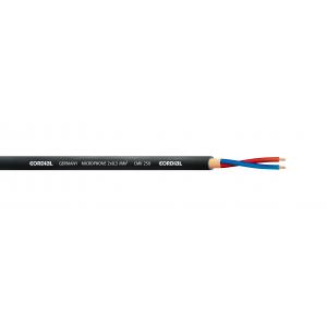 Mikkikaapeli 2x0,50mm² Ø6,4mm, musta