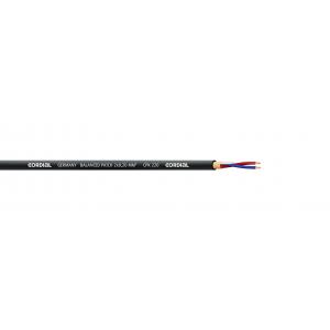 Bantam-kaapeli 2x0,20mm² Ø4,7mm, musta