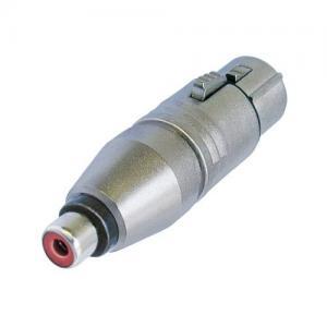 Neutrik NA2FPMF adapteri XLR-3F/ RCA-F