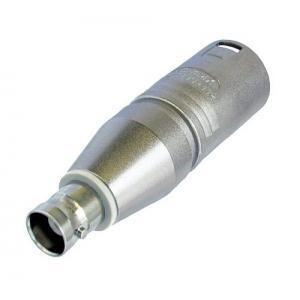 Neutrik NA2MBNC adapteri XLR-3M / BNC-F