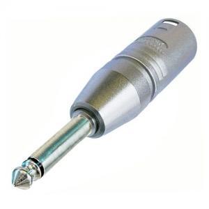 Neutrik NA2MP adapteri XLR-3M / 6,3mm plugi