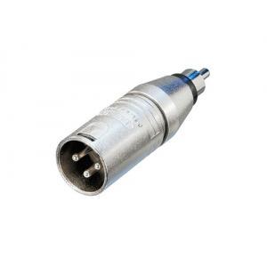 Neutrik NA2MPMM adapteri XLR-3M / RCA-M