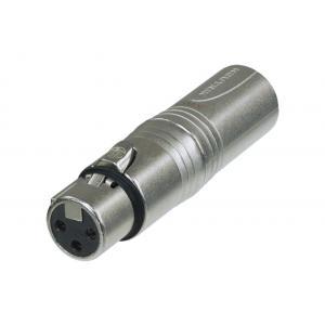 Neutrik NA3F5M DMX-adapteri XLR-3F / XLR-5M