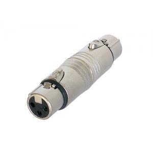 Neutrik NA3FF adapteri XLR-3F / XLR-3F
