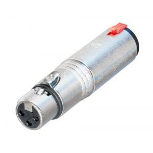 Neutrik NA3FJ adapteri XLR-3F / 6,3mm jakki