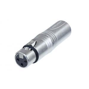 Neutrik NA3FM adapteri XLR-3F / XLR-3M