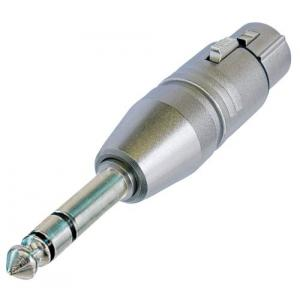 Neutrik NA3FP adapteri XLR-3F / 6,3mm plugi