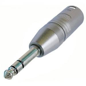 Neutrik NA3MP adapteri XLR-3M / 6,3mm plugi
