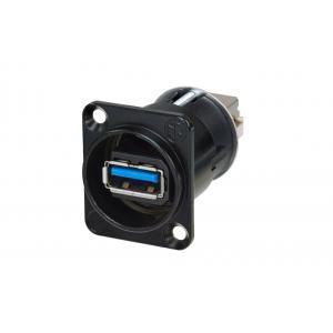 Neutrik NAUSB3-B USB3 läpivientiliitin