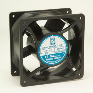 AC-tuuletin 180x180x89 mm, 230 VAC/70 W
